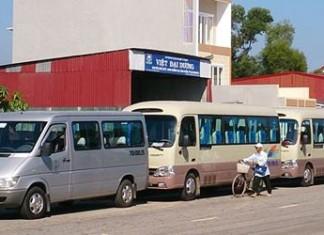công ty cho thuê xe du lịch tại huế uy tín