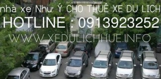 công ty cho thuê xe du lịch huế