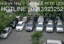 Dịch vụ thuê xe tự lái Huế