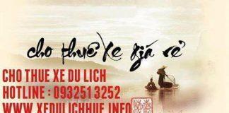 cho thuê xe du lịch giá rẻ ở huế, www.xedulichhue.info