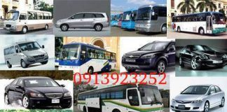 bảng giá cho thuê xe du lịch huế, cho thuê xe hợp đồng huế