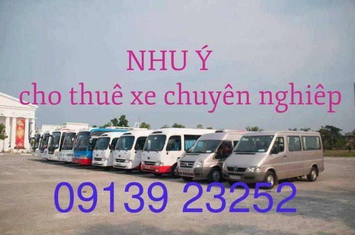 thuê xe hợp đồng du lịch huế giá rẻ