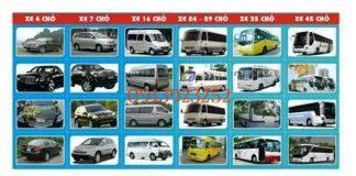 thuê xe du lịch ở Huế