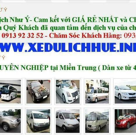 dịch vụ thuê xe du lịch ở huế