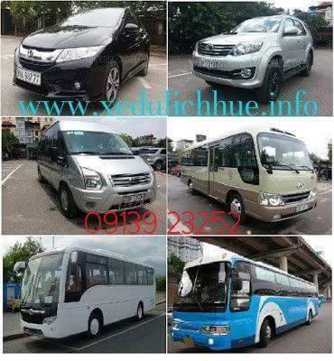 thuê xe du lịch giá rẻ Huế