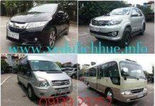 thuê xe du lịch Huế